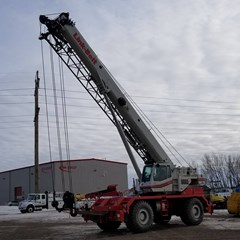 Crane For Sale:  2014 Link Belt RTC-8065 II