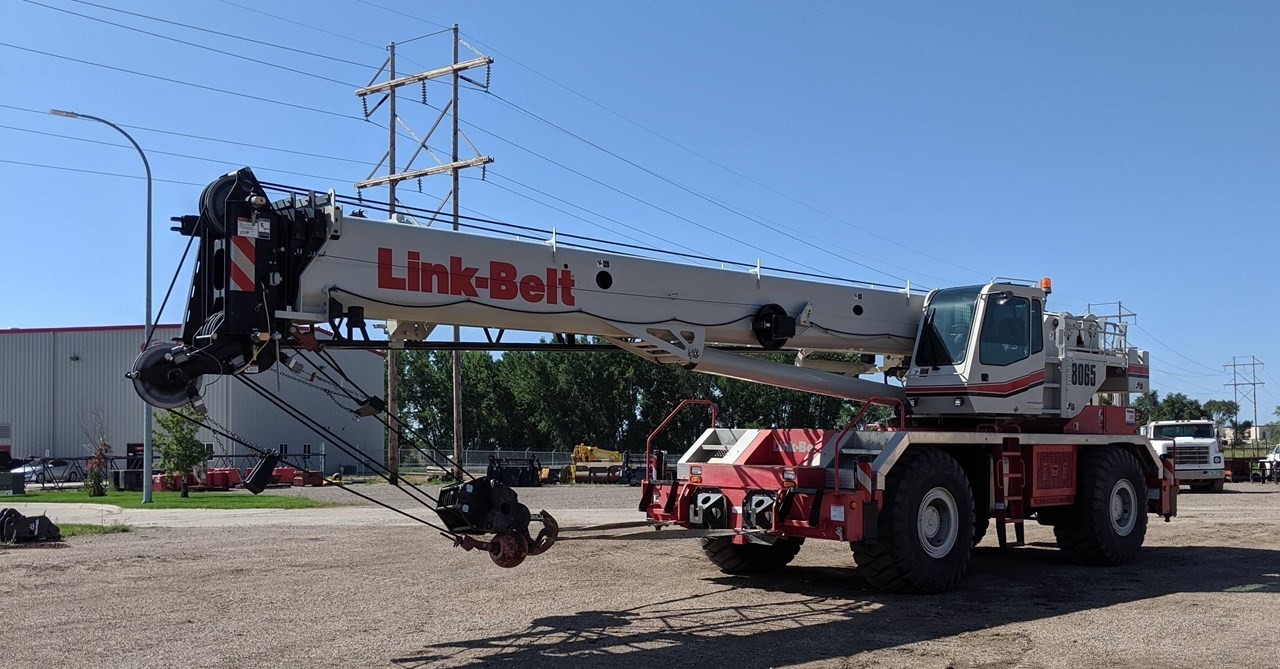 2015 Link Belt RTC-8065 II Crane For Sale