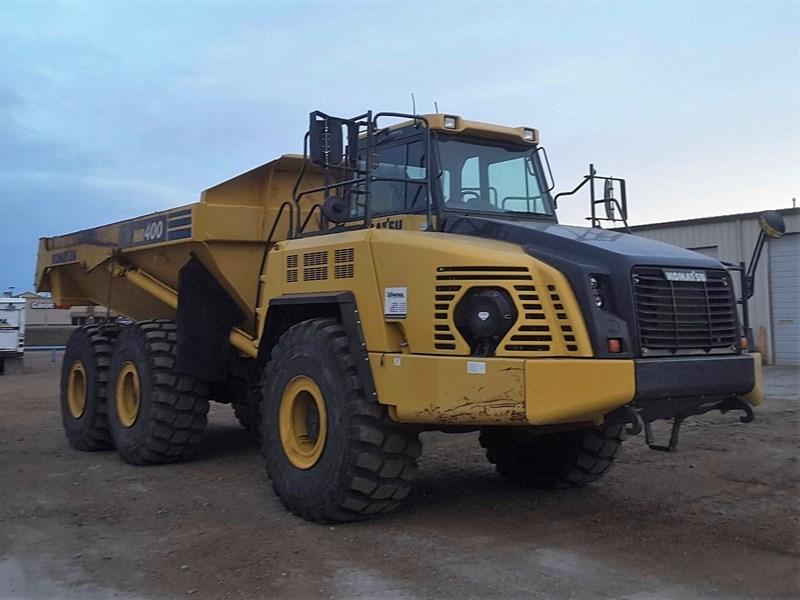 2013 Komatsu HM400-3 End Dump Truck For Sale