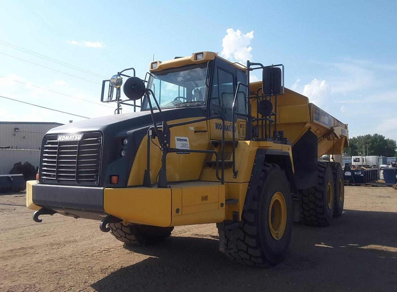 2015 Komatsu HM400-5 End Dump Truck For Sale