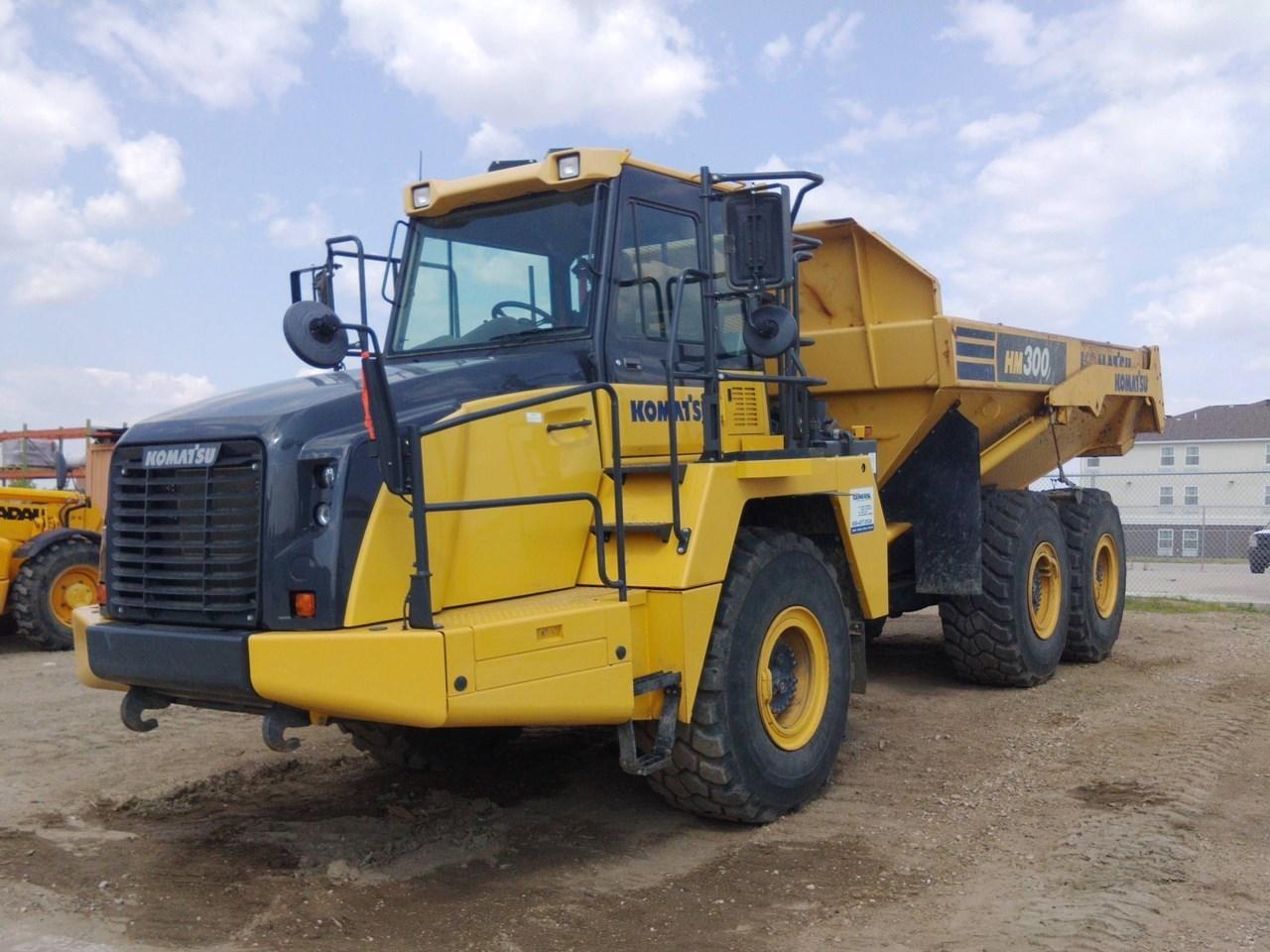 2015 Komatsu HM300-5 End Dump Truck For Sale