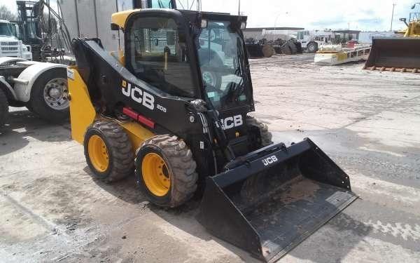 2014 JCB 205W Skid Steer For Sale