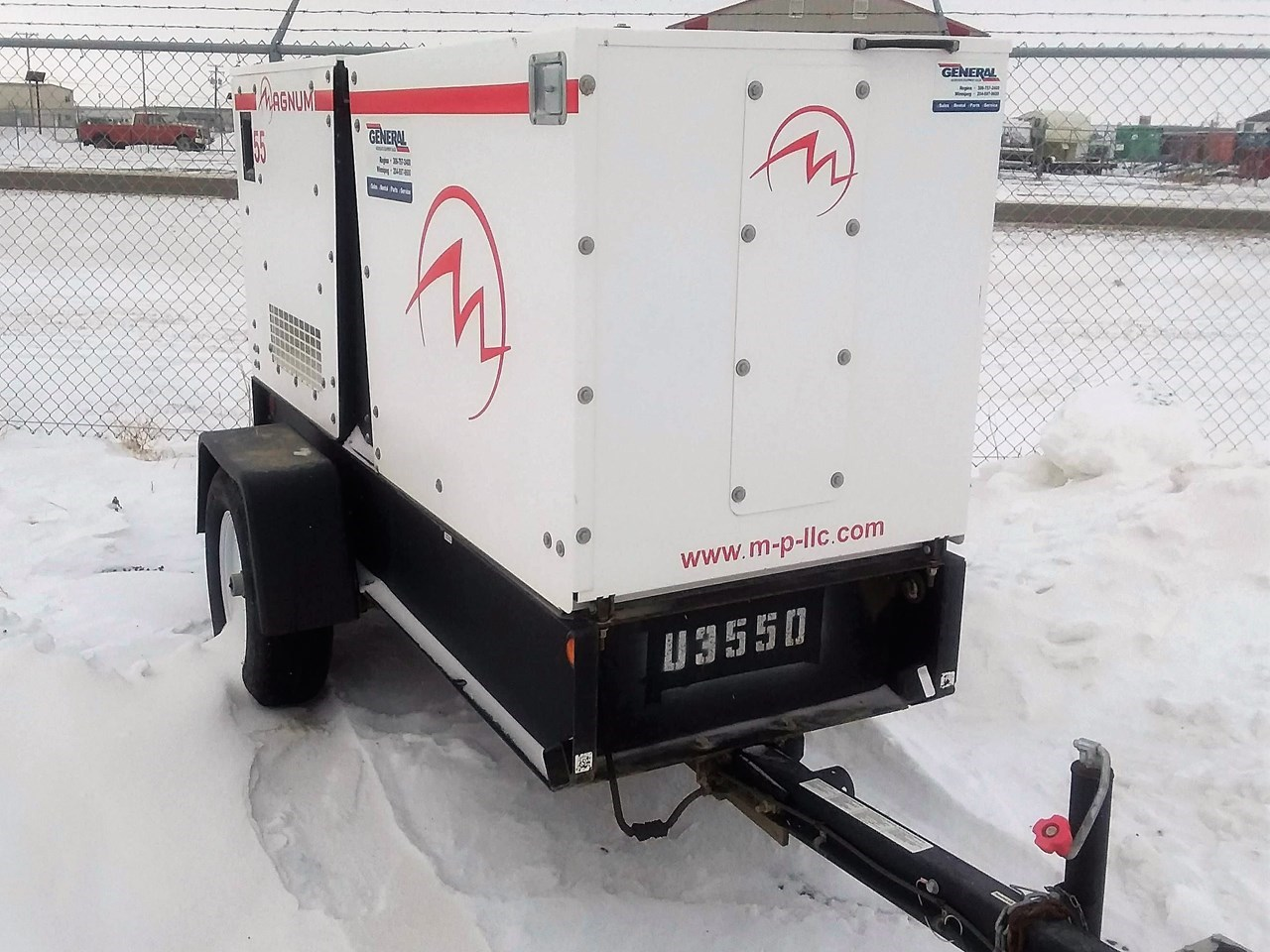 2013 Magnum 47 KW Generator & Power Unit For Sale
