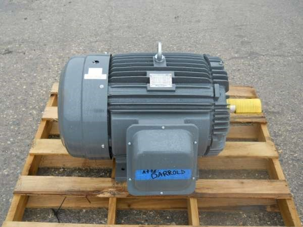2015 TECO 25 HP Electric Motor For Sale