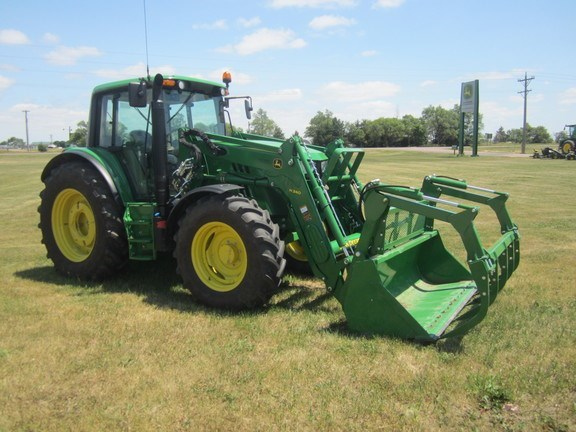2014 John Deere 6115M Cab Tractor For Sale
