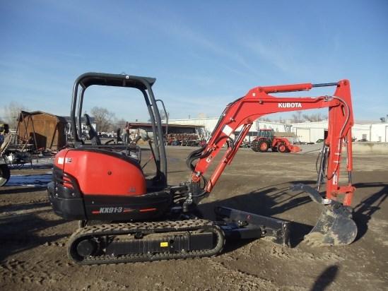 2014 Kubota KX91R1A Excavator-Mini For Sale