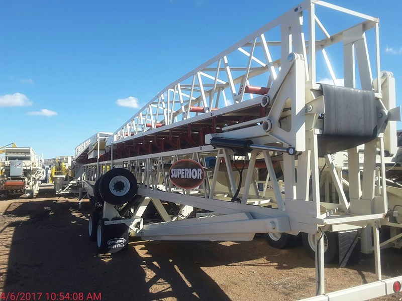 2016 Superior 36X150PS Conveyor - Stacking For Sale