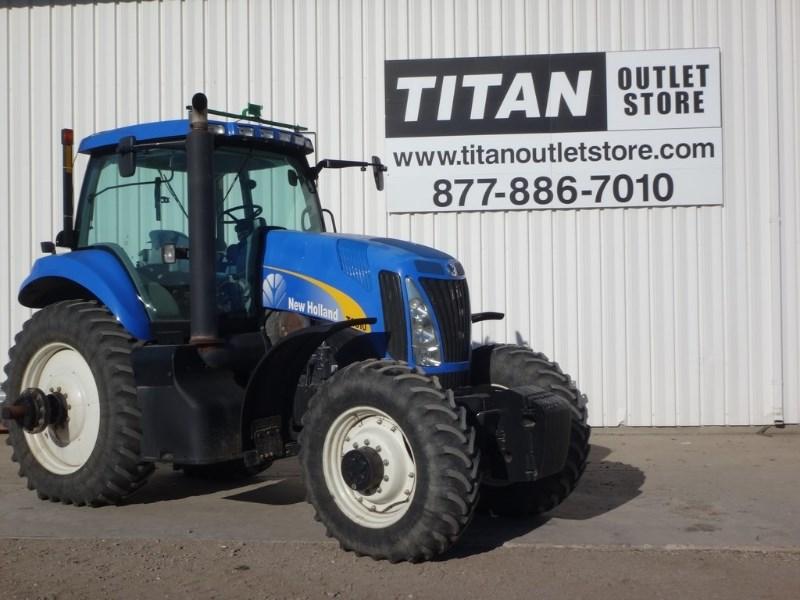 2008 New Holland T8010, 1253 Hr, 3 Rem,Wts, 3Pt Uninstalled Tractores a la venta