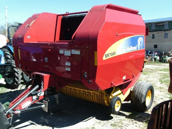 2008 New Holland BR7080 Baler-Round For Sale