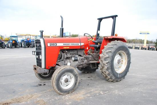 1996 Massey Ferguson 283 Tractor For Sale