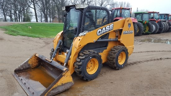 2012 Case SR220 Skid Steer For Sale
