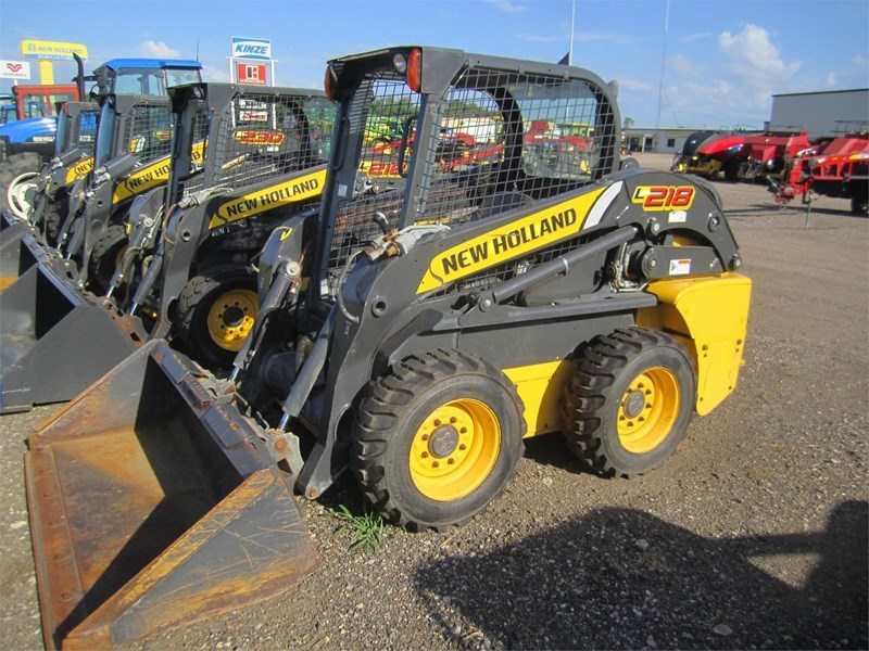 2013 New Holland L218 Skid Steer For Sale