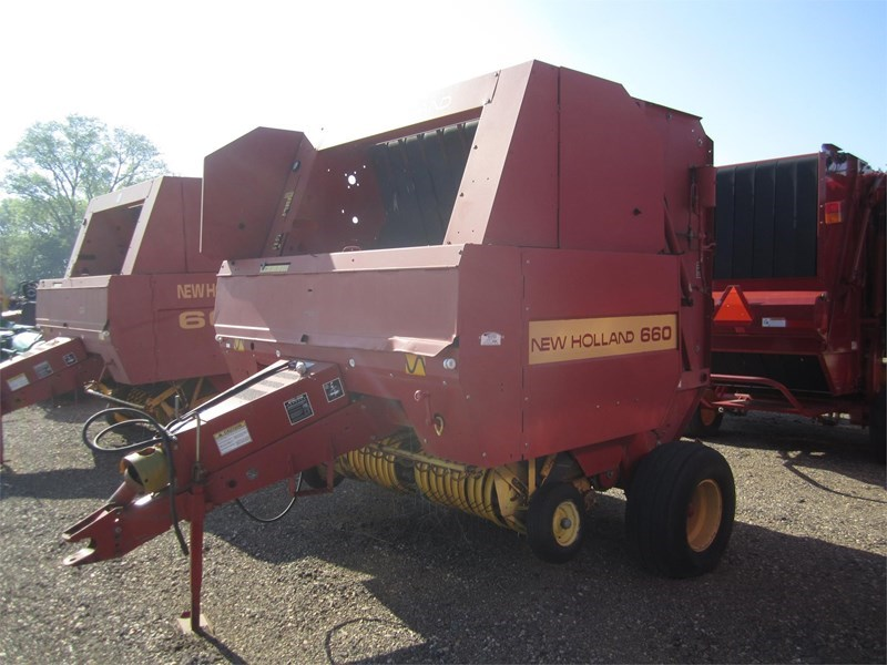 1994 New Holland 660 Baler-Round For Sale