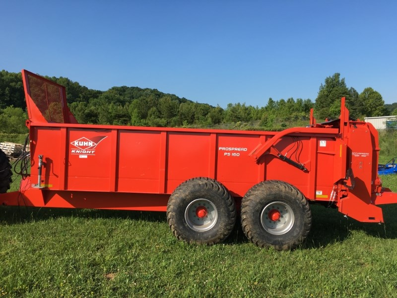 2015 Kuhn Knight PS160 Manure Spreader-Dry/Pull Type For Sale