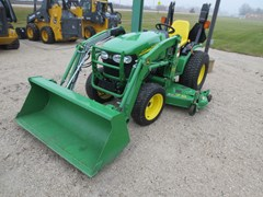 Tractor - Compact For Sale 2013 John Deere 2520 , 27 HP