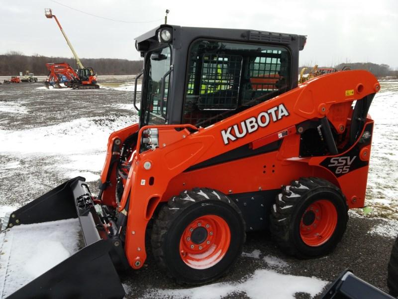 2016 Kubota SSV65HFC Skid Steer For Sale
