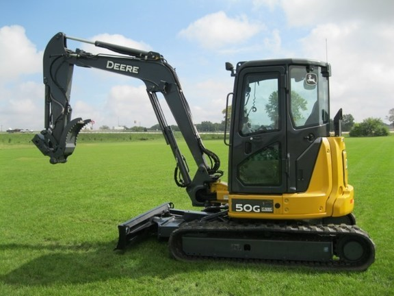 2016 John Deere 50G Excavator-Mini For Sale