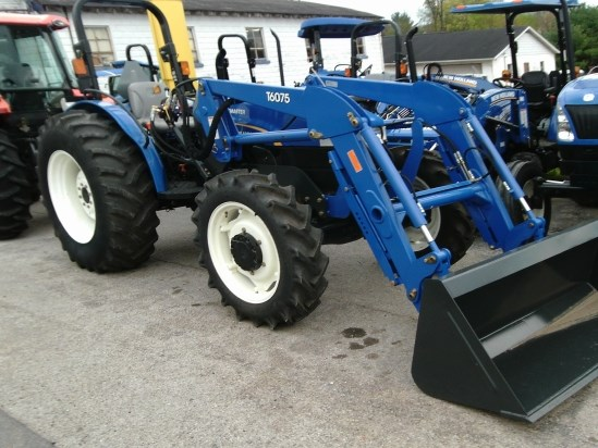 2012 New Holland WORKMASTER 75 MFD W/T6075 Tractor For Sale