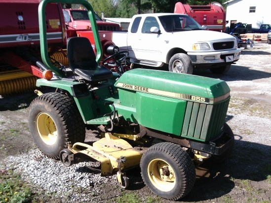 1990 John Deere 855 Tractor For Sale