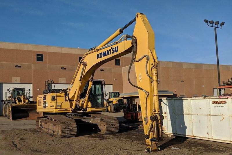 2014 Komatsu PC360LC-10 Excavator For Sale
