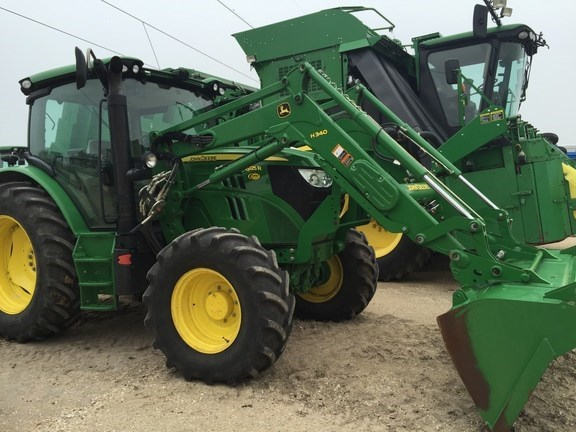 2014 John Deere 6125R Tractor For Sale