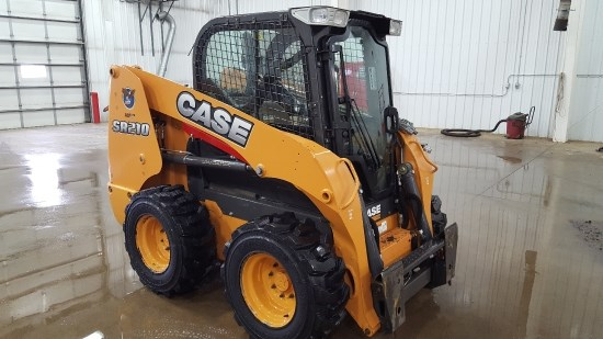 2014 Case SR210 Skid Steer For Sale