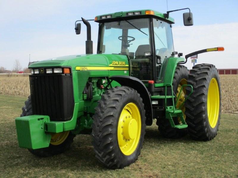 2001 John Deere 8110 Tractor For Sale