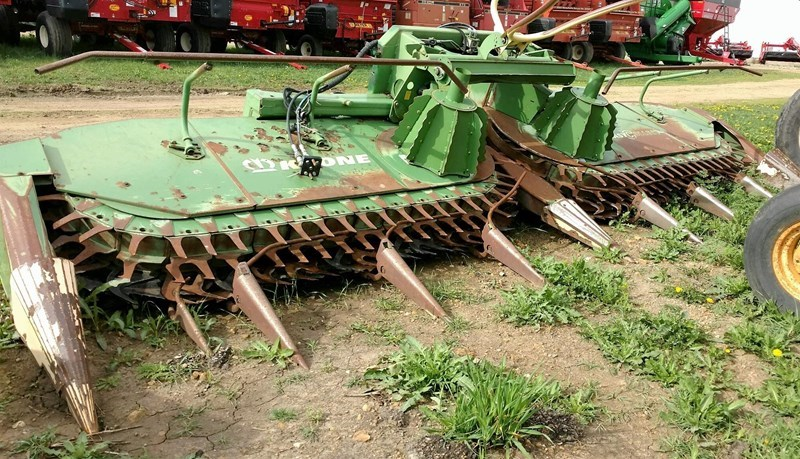 Krone EASY COLLECT 6000 Forage Head-Row Crop For Sale