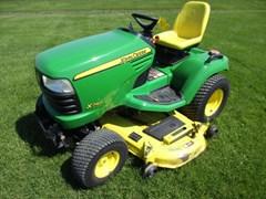 Riding Mower For Sale 2009 John Deere X740 , 24 HP