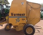 Baler-Round For Sale: 2003 Vermeer 555XL
