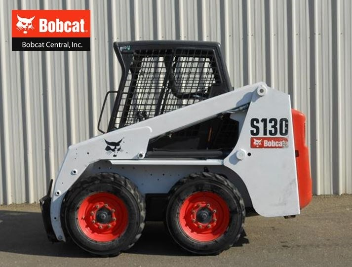 2013 Bobcat S130 Skid Steer For Sale