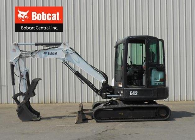 2011 Bobcat E42 Excavator-Mini For Sale