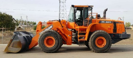 2011 Doosan DL420B Wheel Loader For Sale