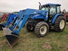 Tractor For Sale:  2001 New Holland TS110 , 90 HP