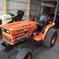 Tractor For Sale:  1986 Kubota 7200 , 17 HP