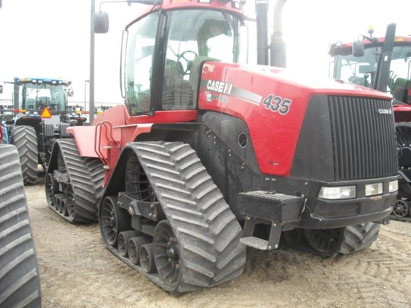 2008 Case IH 435 QUAD Tractor For Sale