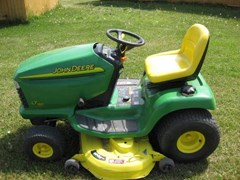 Riding Mower For Sale 2003 John Deere LT180 , 17 HP