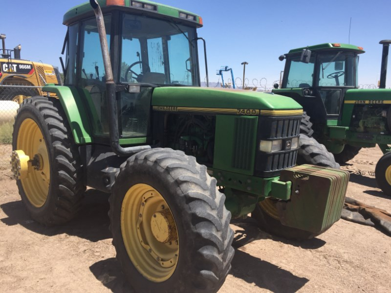 1995 John Deere 7400 Tractor For Sale