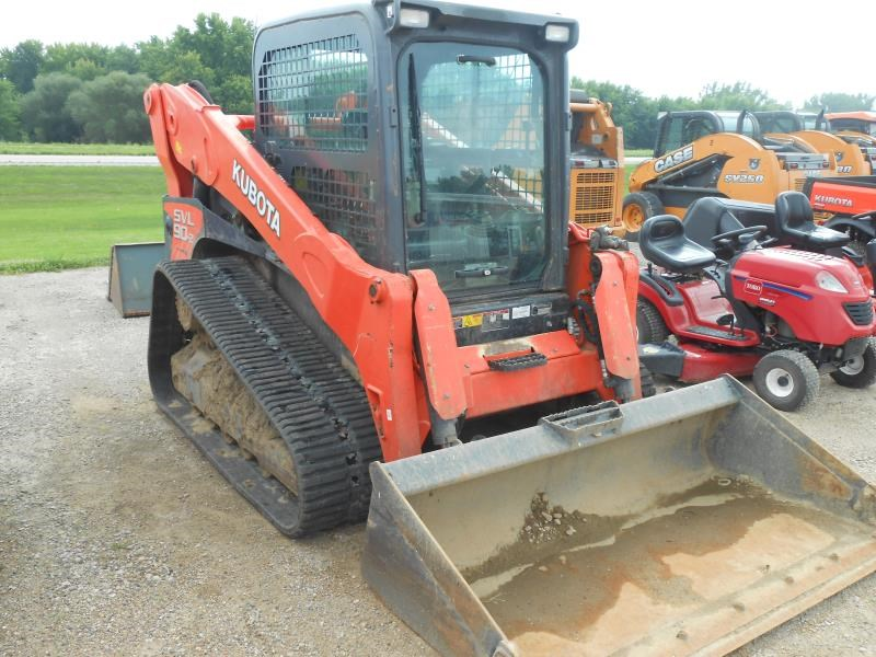 2014 Kubota SVL90-2HC Skid Steer For Sale