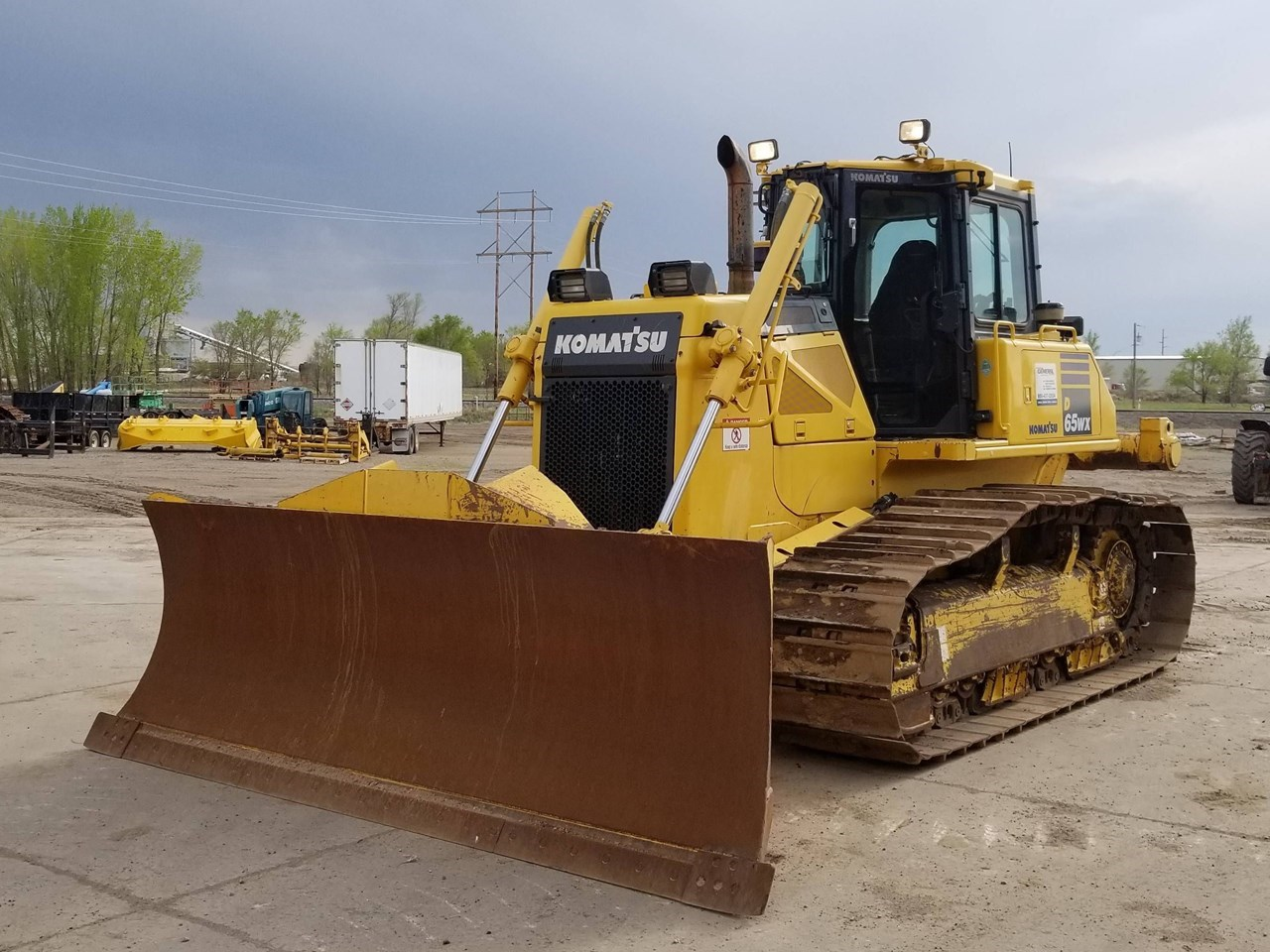 2013 Komatsu D65WX-17 Crawler Tractor For Sale