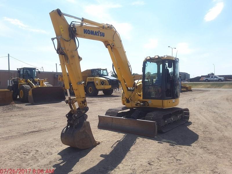 2015 Komatsu PC88MR-10 Excavator For Sale