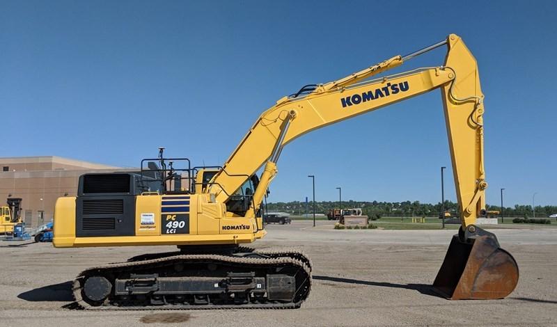 2016 Komatsu PC490LCI-11 Excavator For Sale
