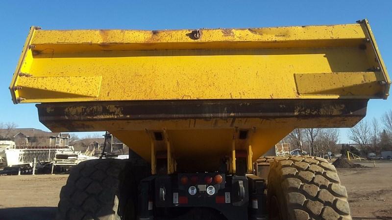 2014 Komatsu HM400-3 End Dump Truck For Sale