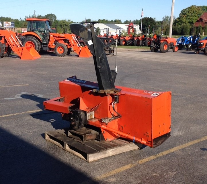 Kubota L2185 Snow Blower For Sale