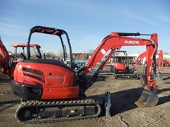 Excavator-Mini For Sale 2017 Kubota KX040