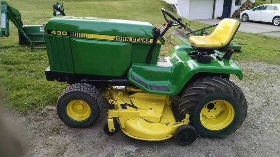 1987 John Deere 430 Riding Mower For Sale Z M Ag And Turf Ny Pa