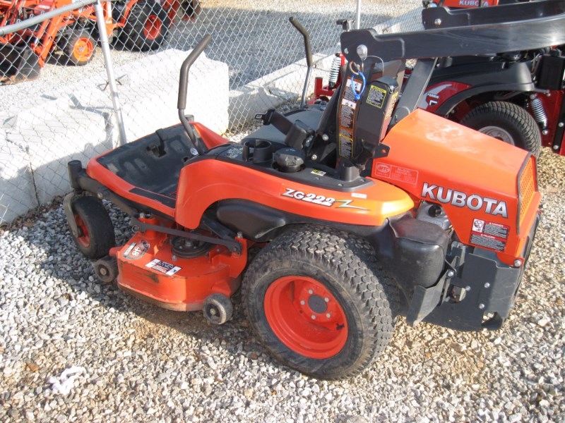 2012 Kubota ZG222A-48 Riding Mower For Sale