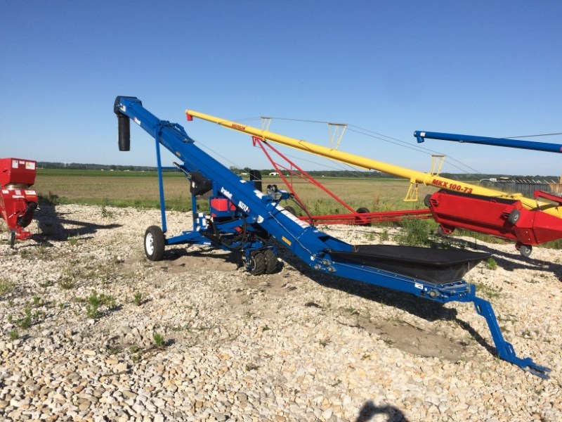 Brandt 1537LP W/ EZ MOVER Auger-Portable For Sale