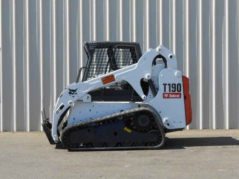 2011 Bobcat T190 Skid Steer-Track For Sale
