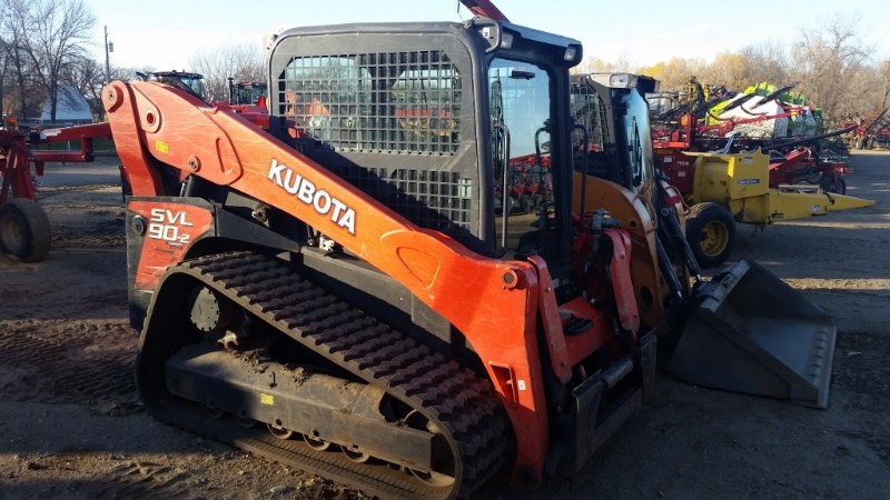 2013 Kubota SVL90-2HC Skid Steer For Sale